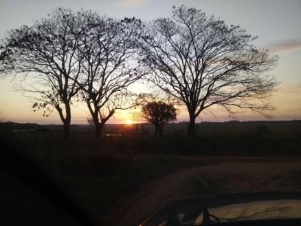 atardecer en el campo-San José de los Arroyos